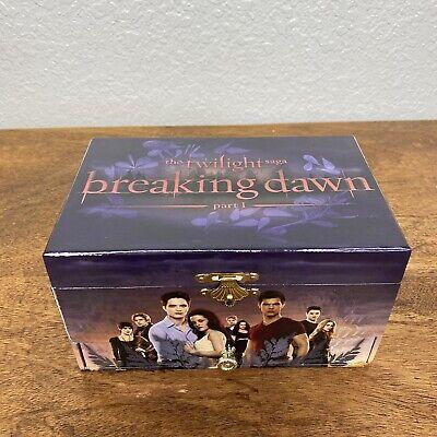 Twilight Saga Musical Jewelry Box Breaking Dawn Part 1 Cullen Family Cast Bella