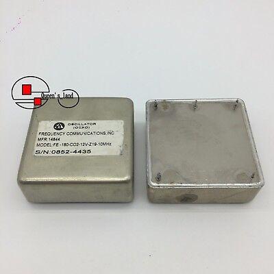 Fei Fe-180 10mhz 12v Sinewave Double Oven Ocxo Crystal Oscillator Replace Mv180