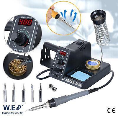 60W Lötkolben regelbare digitale Feinlötkolben Pro. Lötstation 480°C ESD LED