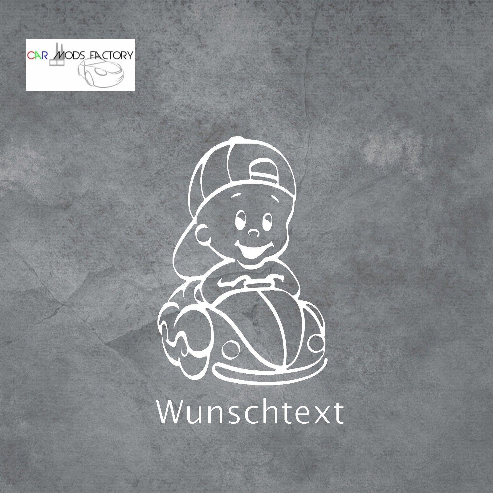 Baby an Bord Aufkleber, Auto Aufkleber - 20x20 cm - Sticker