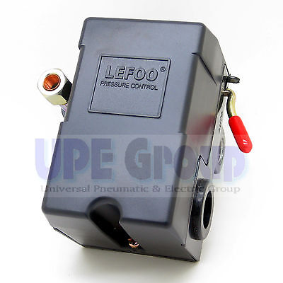 New Pressure Control Switch For Air Compressor Replaces Furnas 95-125 1port