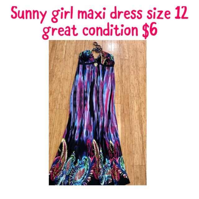 Sunny Girl Maxi Dress Great Condition Dresses Skirts Gumtree