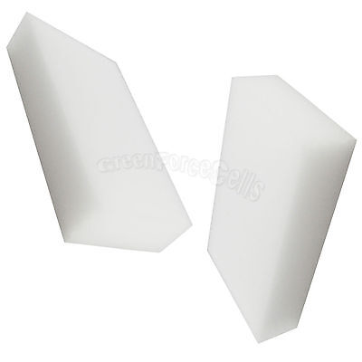 100 Bulk Pack Cleaning Magic Sponge Eraser Melamine Cleaner Foam White US Stock