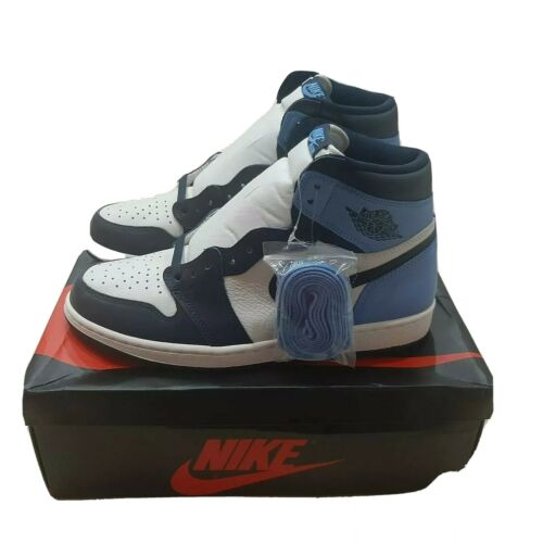 Nike Air Jordan 1 Retro High OG Obsidian  555088-140 Brand New Size 10.5