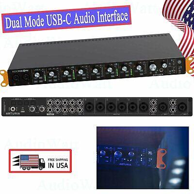 Arturia AudioFuse 8Pre Premium Analog Dual Mode USB-C Audio