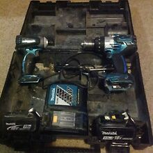 Makita anniversary drill set Cromer Manly Area Preview