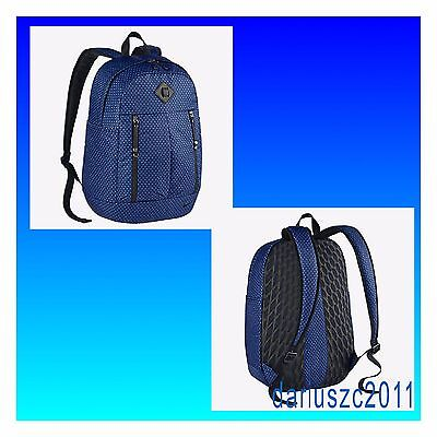 "$80 Nike Auralux Training Backpack BA5242 Black/Blue 15"" Laptop"