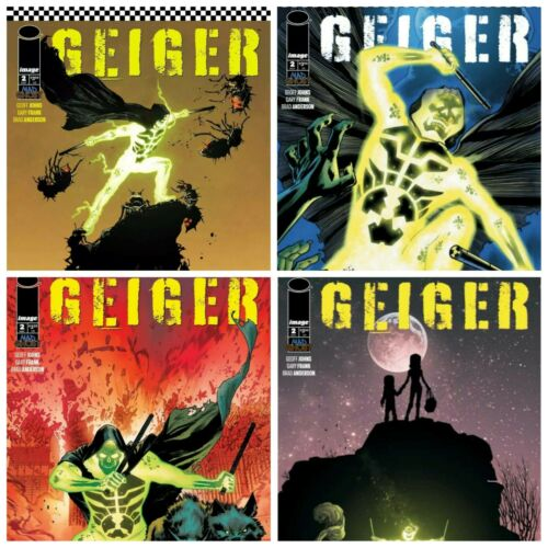 Geiger #2 A B C D Variant Set Options Image Comics Presale 5/12