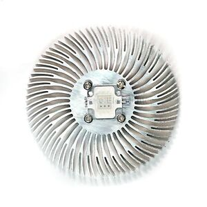 5pcs 90mm*10mm Round Spiral Aluminum Heat sink for 10W Watt High Power LED Lamp