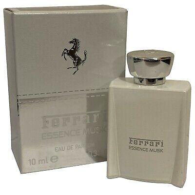 Ferrari Essence Musk 10ml EDP Splash Miniature Mini Aftershave for Men