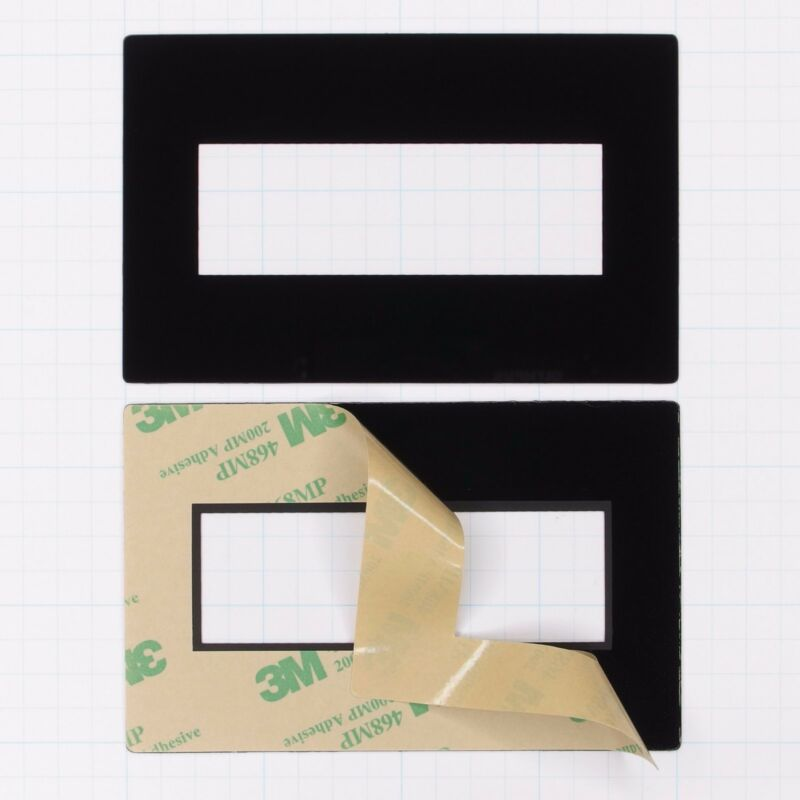 Faceplate Mounting Bezel for 4x20 LCD Displays (pkg of 10 Seetron FPL420)