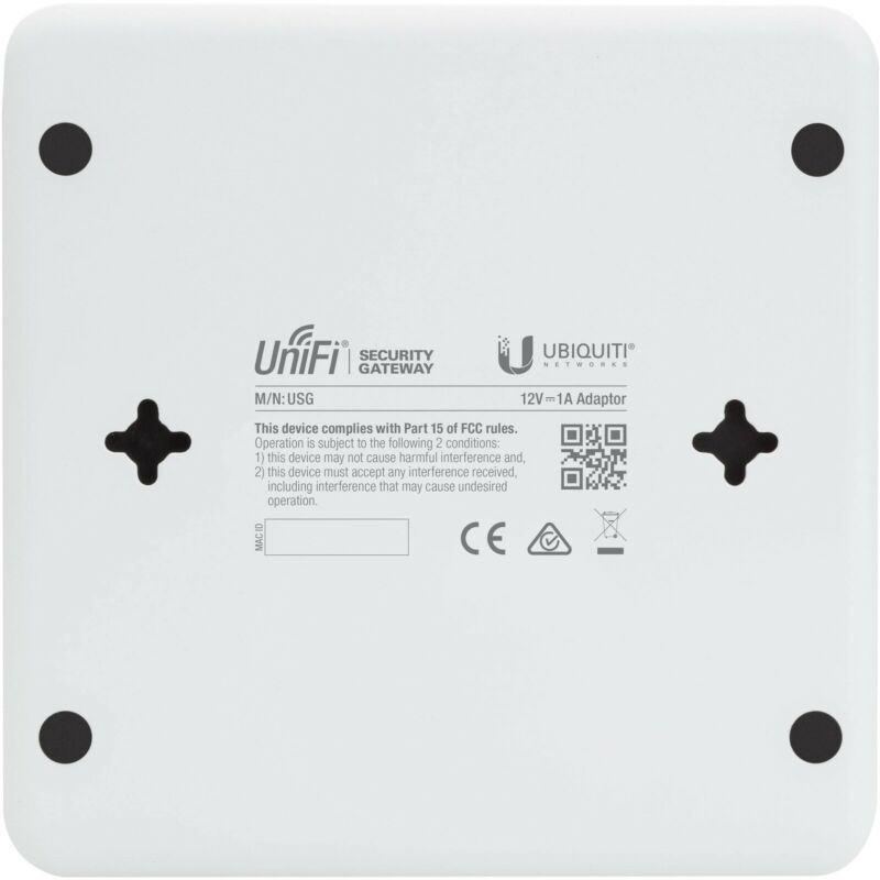 USG UniFi Security Gateway 3Ports