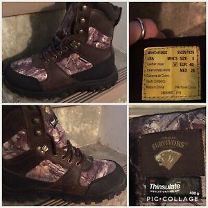 Men's Sz. 8 Waterproof Thinsulate Boots
