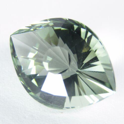 9.60Ct Natural Green Amethyst (prasiolite) Marquise Cut Loose Gem Ref VIDEO