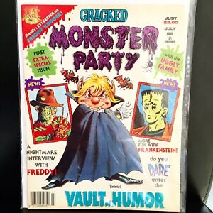 CRACKED MONSTER PARTY # 1 1988