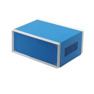 Zulkit Junction Box Blue Metal Rectangle Project Box Diy Electric Enclosure C...