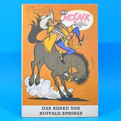 Mosaik 185 Digedags Hannes Hegen Originalheft | DDR | Sammlung original MZ 13