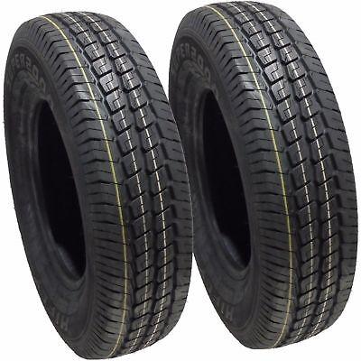 2 16513 Van Trailer Tyres 1658013 8 Ply 13 inch 8pr 165r13c x2 165 13 94/92 C