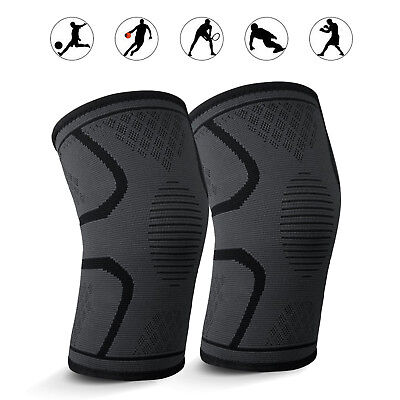 Slim-Fit Knee Brace Compression Sleeves Best Support for Quick Recovery