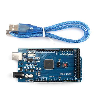 1pcs Mega 2560 R3 Atmega16u2 Atmega2560-16au Board Usb Cable For Arduino Ue
