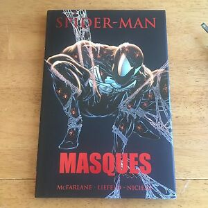 Spiderman Masques hardcover graphic novel