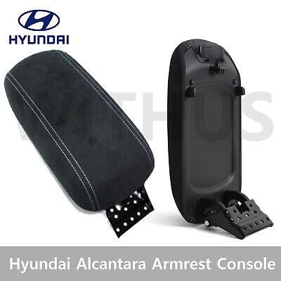 Hyundai OEM Alcantara Armrest Console Suede Black for Veloster N 2019-21