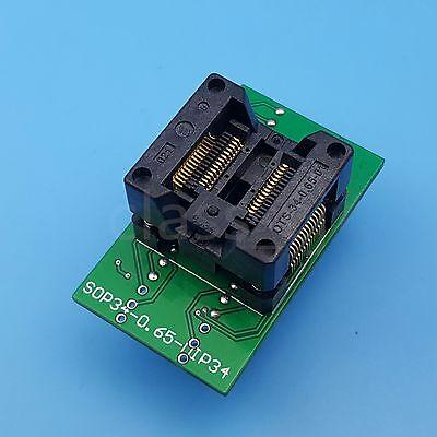 Ssop28 Tssop28 To Dip28 Pitch 0.65mm Ic Programmer Adapter Test Socket
