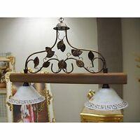 Lampadario ferro legno - Arredamento, mobili e accessori per la ...