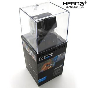Go Pro Black Edition HERO3+ Plus Camcorder Wi-Fi Remote 1080p 60fps, CHDHX-302
