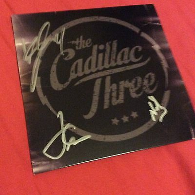 The Cadillac Three Signed CD Card Slipcase Tennessee Mojo Us Import New