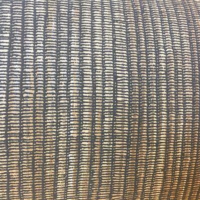 Borneo Texture Charcoal Brown Gold Grasscloth Luxury Modern Textured Holden