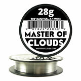 100 ft - 28 Gauge AWG A1 Kanthal Round Wire 0.32mm Resistance A-1 28g GA 100'