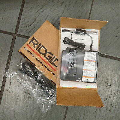 New Ridgid 45363 Ac Battery Adapter Seesnake Digital Recording Monitors Reels