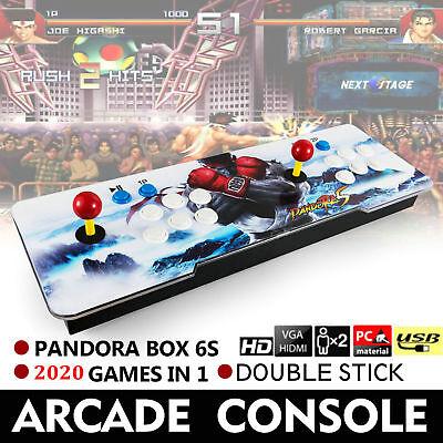 2020 in 1 Video Games Arcade Console Machine Double Stick Home Pandora's Box 6s
