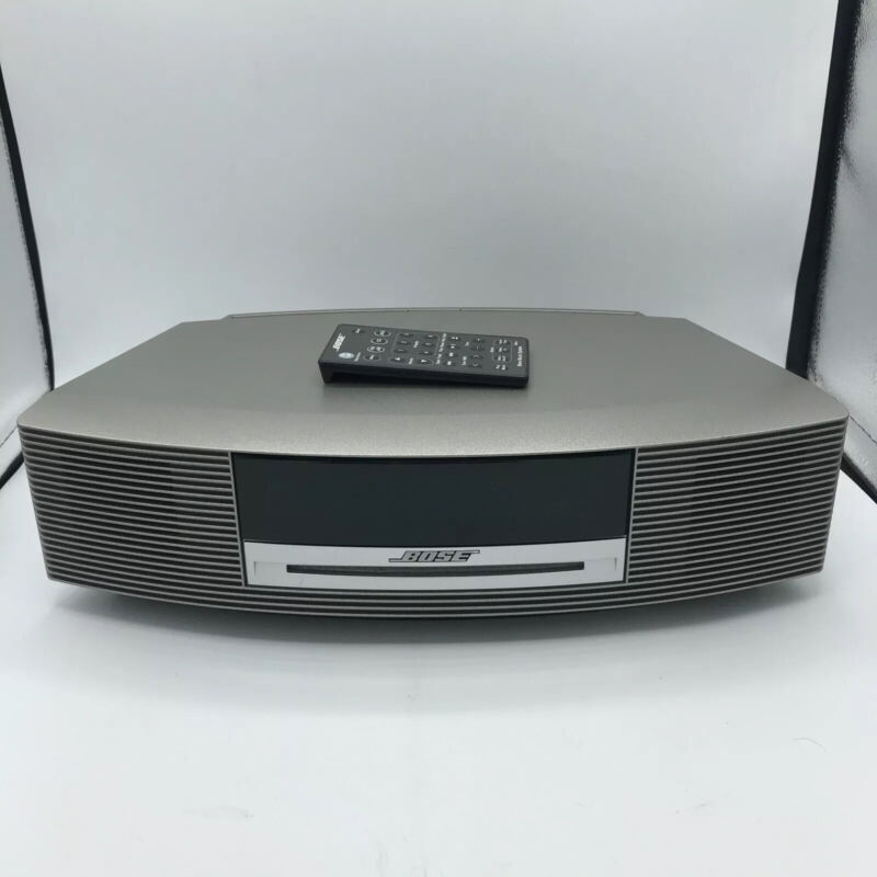 Bose Wave Music System III, AM/FM CD Player Alarm, Graphite Grey With Remote