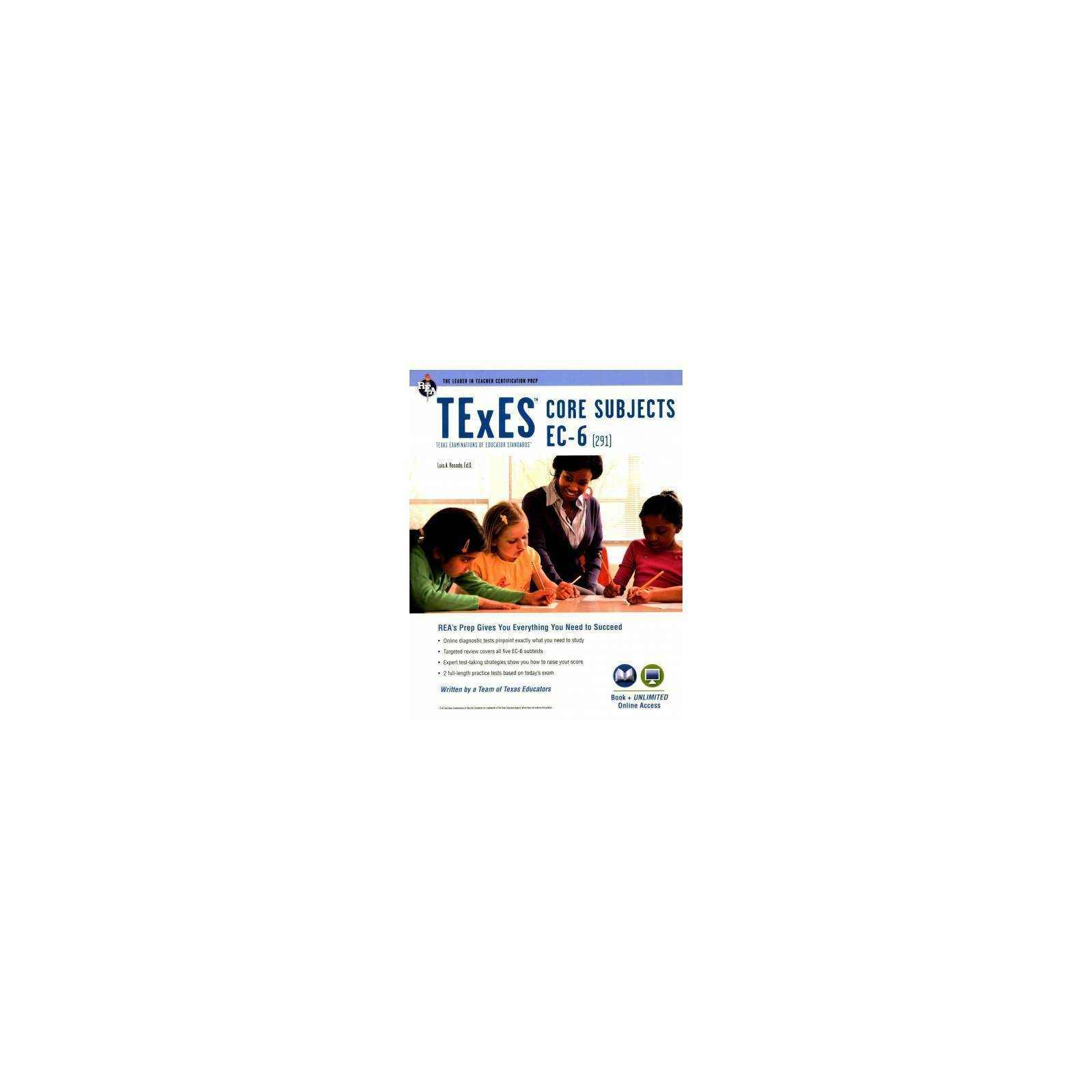 TExES Teacher Certification Test Prep: TExES Core Subjects EC-6 (291 ...