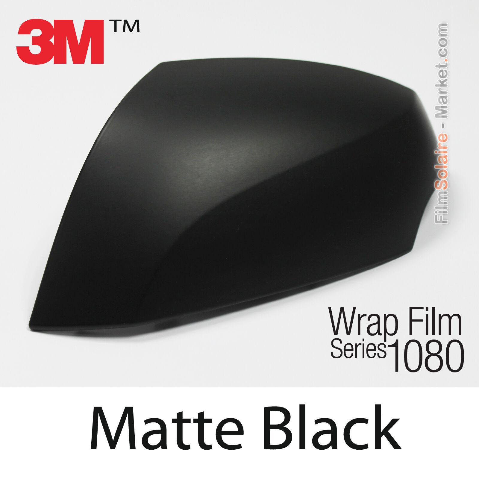 "3M Matte Black Vinyl Wrap Stripe piece 4/"" inch x 36/"" inch"