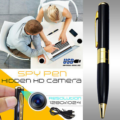 Hidden Spy Camera Pen Full HD 1080P Cam DVR Video Recording With MIC 32 GB UK