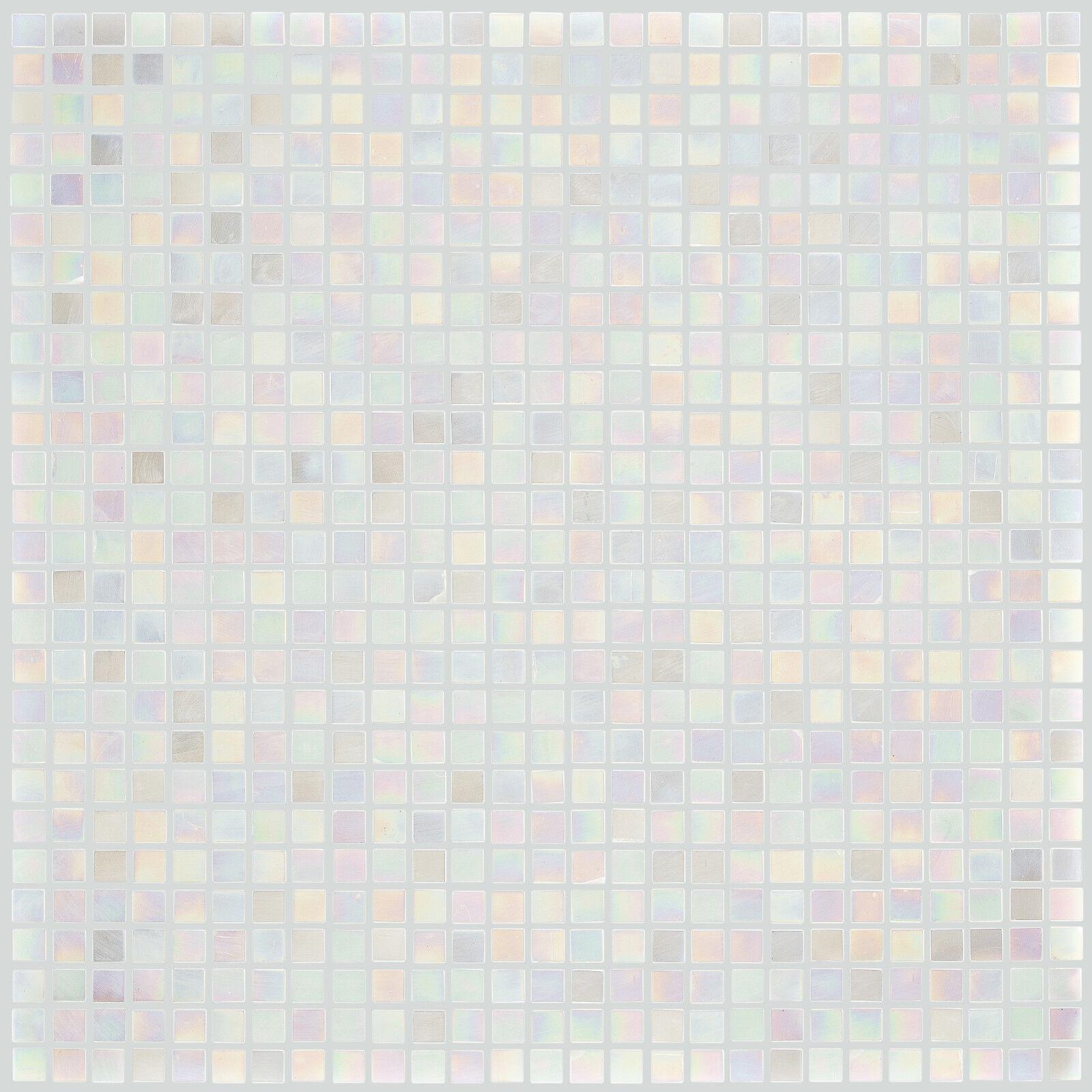 Details Zu Glasmosaik Fliesen Weiss Perlmutt Wand Dusche Wc Kuche 10 Matten Es 78264 F