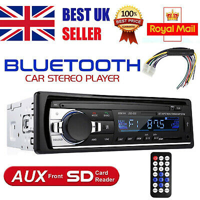 Bluetooth Car Radio Stereo Handsfree Player In-dash MP3/USB/SD/FM/AUX-IN Iphone