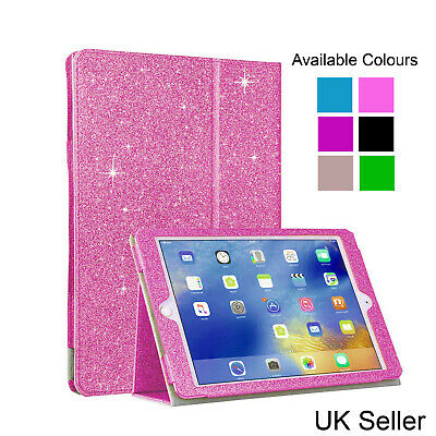Bling Glitter Luxury Case For Apple Ipad 2 3 4 Cover Black Pink, Rose Gold Blue