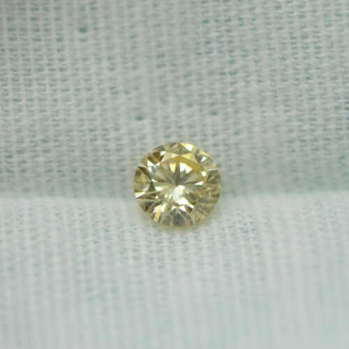 GIA Certified Diamond Loose 1 ct Fancy Yellow Brown Round Brilliant Natural Real 1