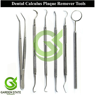 Dental Veterinary Tartar Removing Tools Kit Hygiene Plaque Remover Tooth Scraper