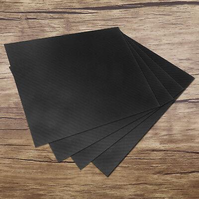 100% Real Carbon Fiber Plate 200*250*(0.5-2)mm Panel Sheet 3K Plain (Carbon Fibre Sheet)