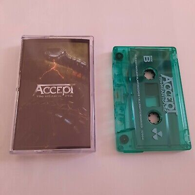 Accept - too mean to die - Tape MC