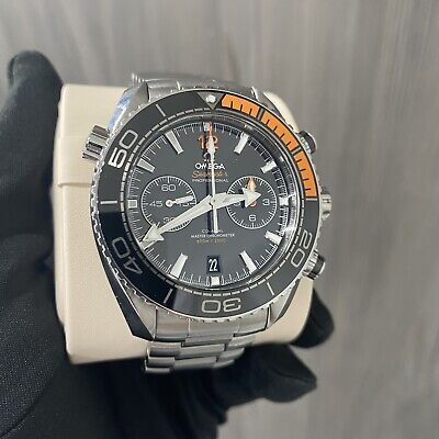 Omega Seamaster Planet Ocean Chronograph 600m - 08/2021 Box & Papers