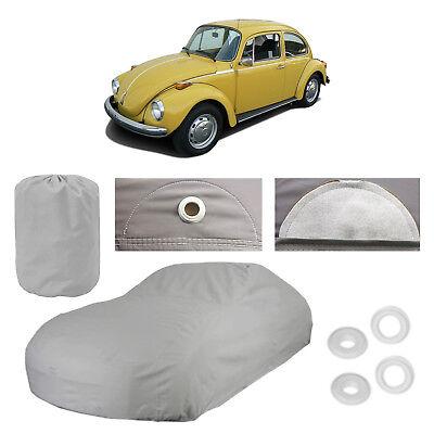 Classic Volkswagen Super Beetle 4 Layer Car Cover Water Proof Rain Snow Sun -