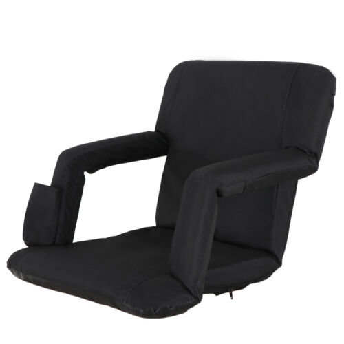 Ergonomics Stadium Seats Chairs For Bleachers 5 Reclining Positions Black Other Outdoor Sports