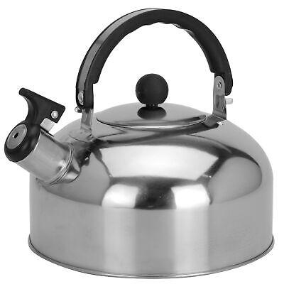 Wasserkessel  Edelstahl 2,3L Flötenkessel Teekessel Wasserkocher Induktion