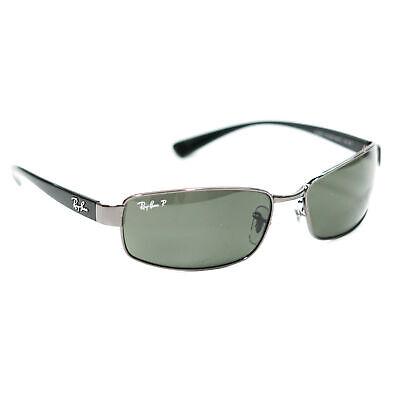 Ray-Ban RB3364 Polarized Sunglasses Gunmetal/Crystal Green